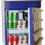 Versonel Blue Portable Garage Toolbox Refrigerator