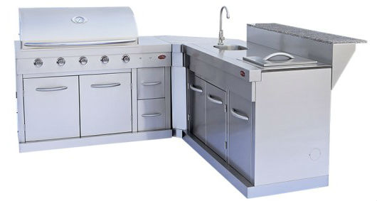 The 3 Types Of Prefab Outdoor Kitchen Kits 3goodones Com