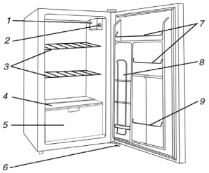 Bull Outdoor Refrigerator Drawing
