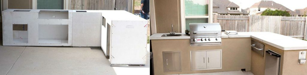 The 3 Types Of Prefab Outdoor Kitchen Kits 3 Good Ones