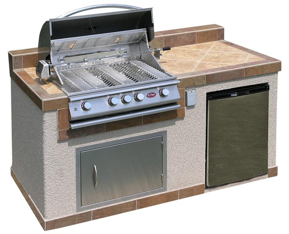 Cal Flame Outdoor Kitchen Island Kit
