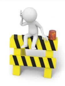 roadblocks to build an outdoor kitchen